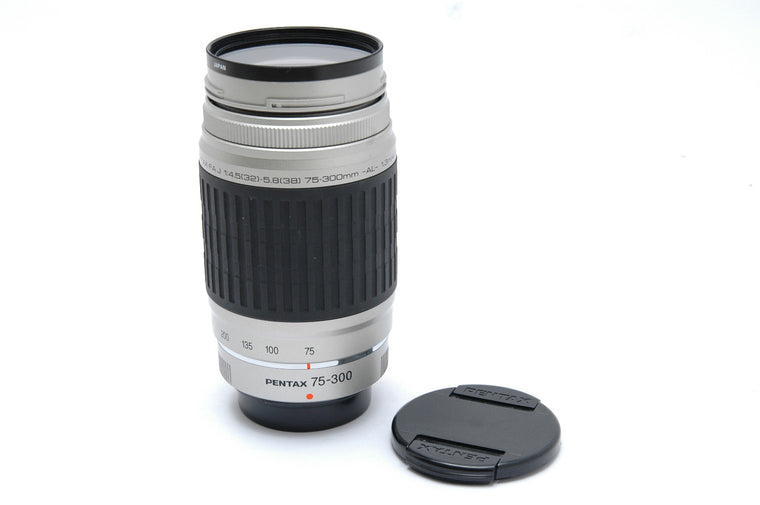 Used Pentax 75-300mm f4.5-5.8 AL Lens
