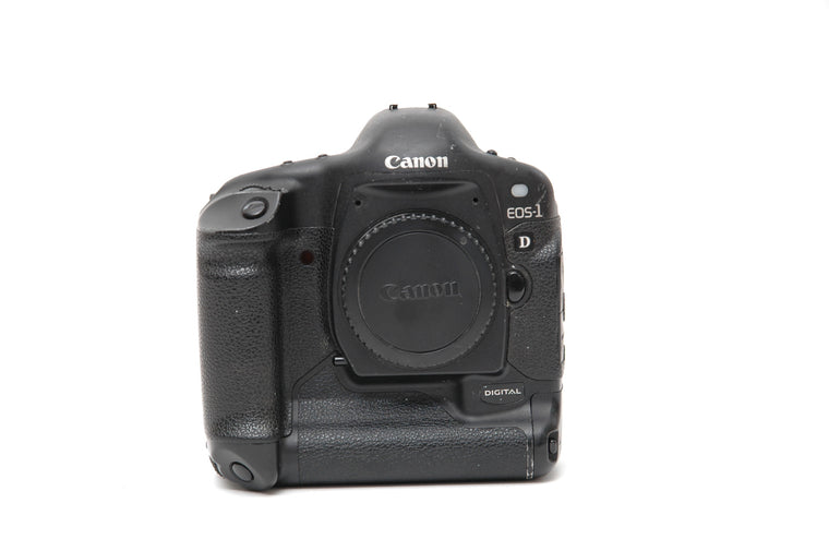 Used Canon EOS 1D Camera Body - Black (No Charger)
