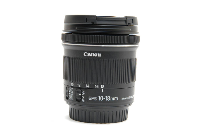 Used Canon EF-S 10-18mm f/4.5-5.6 IS STM Lens