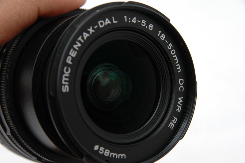 Used Pentax 18-50mm f4-5.6 SMC DA L DC WR RE Lens