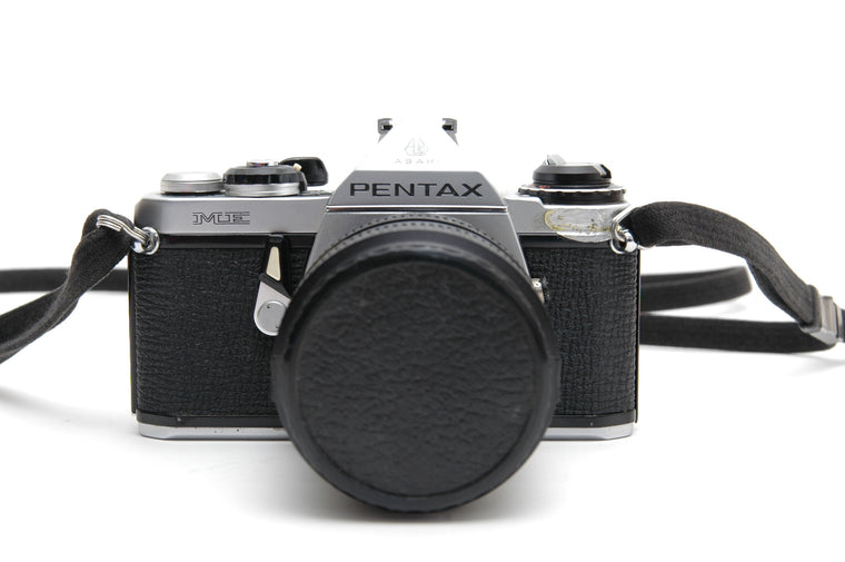 Used Pentax ME 35mm Film Camera with 28-50mm Super Paragon Zoom Lens