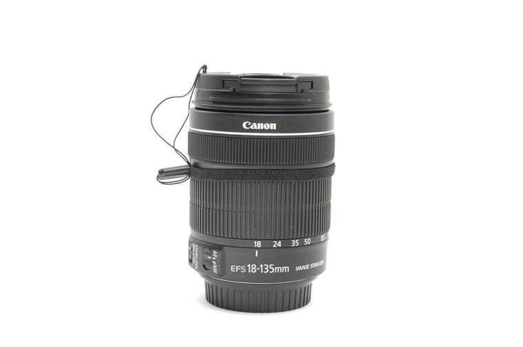Used Canon EF-S 18-135mm f/3.5-5.6 IS STM Lens