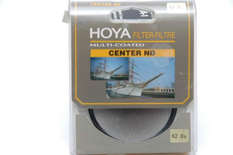 Used Hoya HMC 62mm Center ND filter