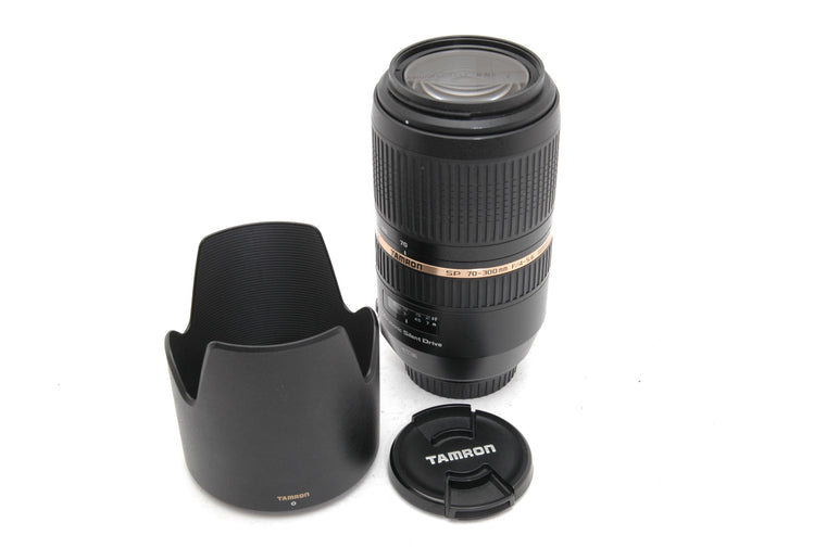 Used Tamron SP 70-300mm f/4-5.6 Di VC USD, Canon EF Fit Lens