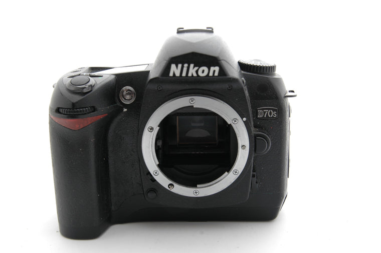 Used Nikon D70s Camera Body - Black