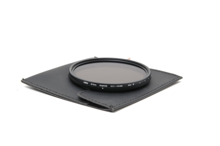 Used Cokin Nuance ND2-ND400 72mm Filter