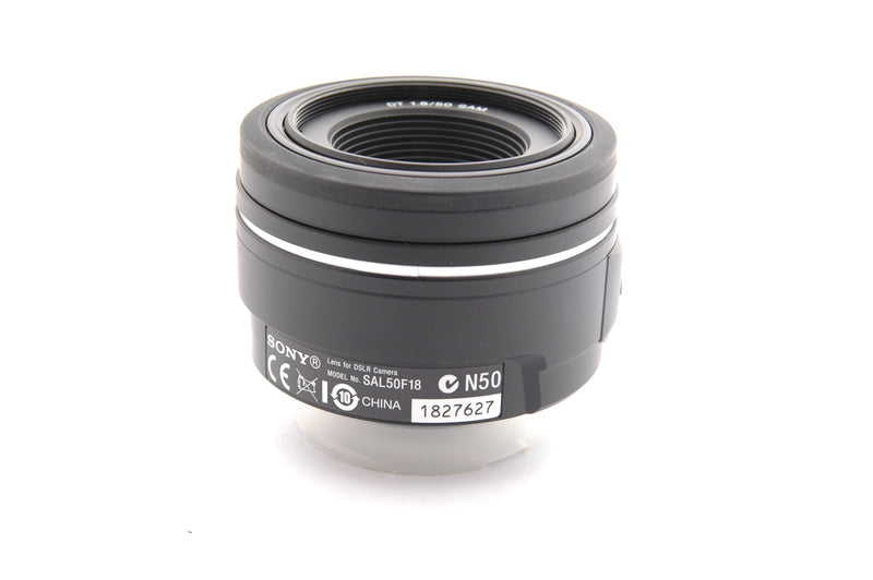 Used Sony DT 50mm f/1.8 SAM - Sony A Fit