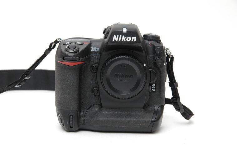 Used Nikon D2H Camera Body - Black