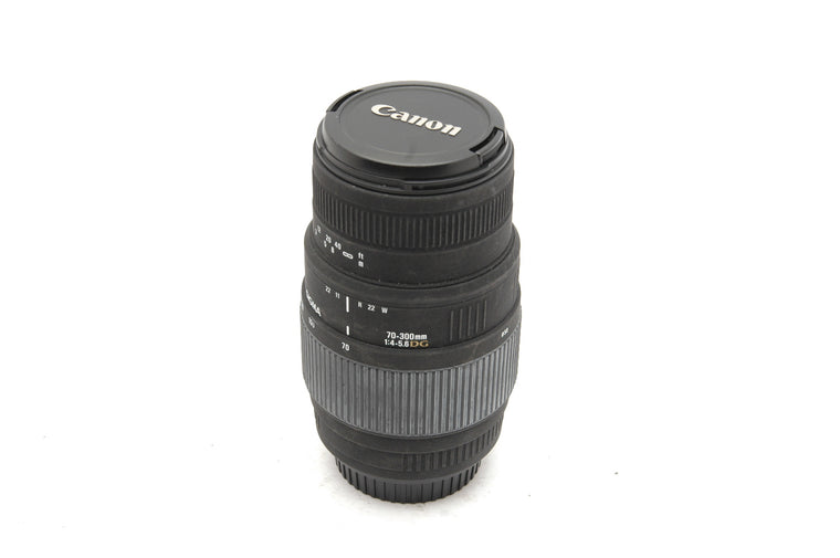 Used Sigma 70-300mm f/4-5.6 DG Macro, Canon EF Fit Lens