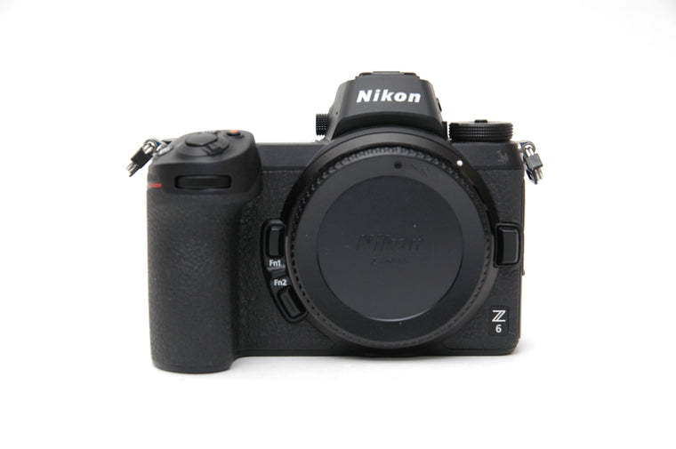 Used Nikon Z6 with FTZ Mount Adapter