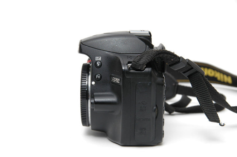 Used Nikon D3200 Camera Body - Black