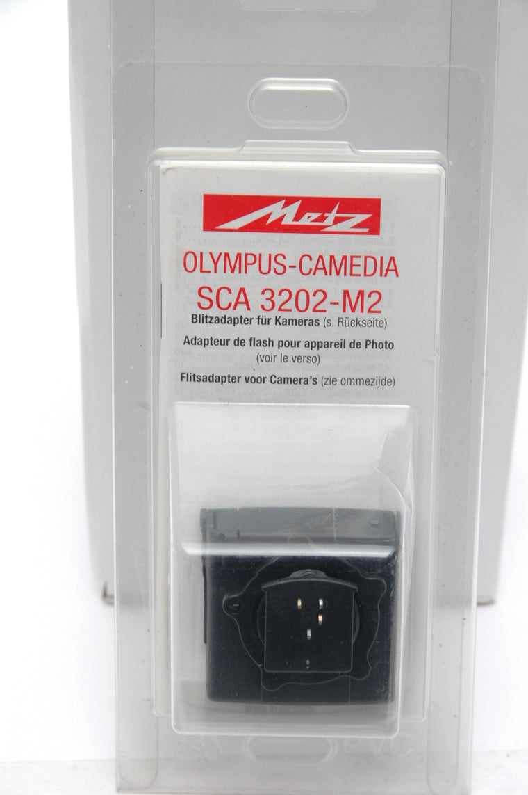 Used Metz SCA 3202 M2 Flash Adapter for Olympus