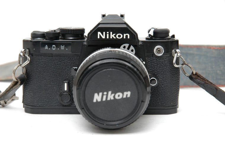 Used Nikon FM 35mm Film Camera with 50mm Lens