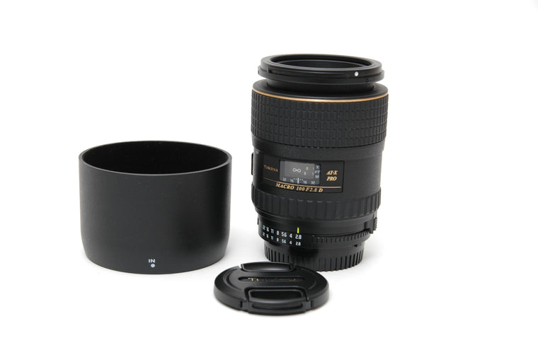 Used Tokina 100mm f/2.8D AT-X Pro Macro - Nikon Fit