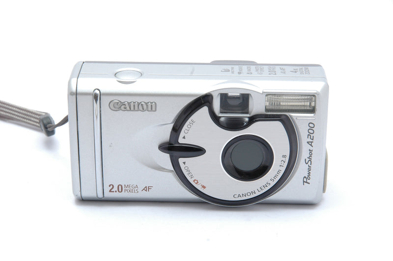 Used Canon Powershot A200 Digital Compact Camera