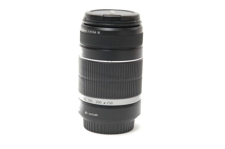 Used Canon EF-S 55-250mm f/4-5.6 IS Lens