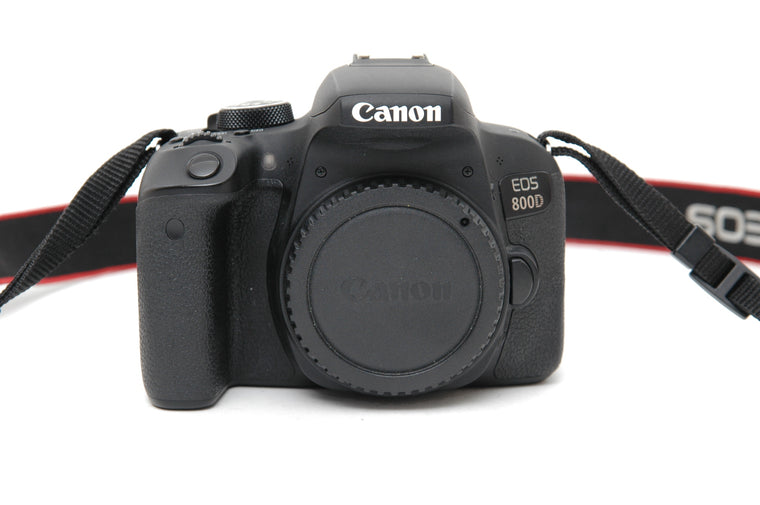 Used Canon EOS 800D Camera Body - Black