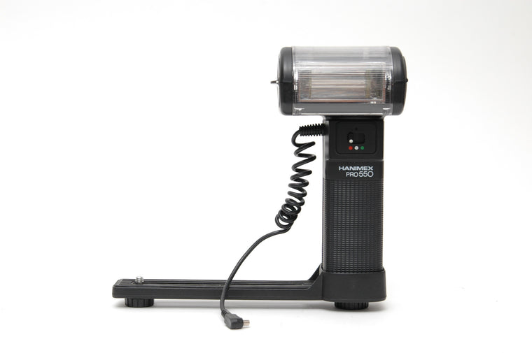 Used Hanimex Pro 550 Flashgun and Bracket