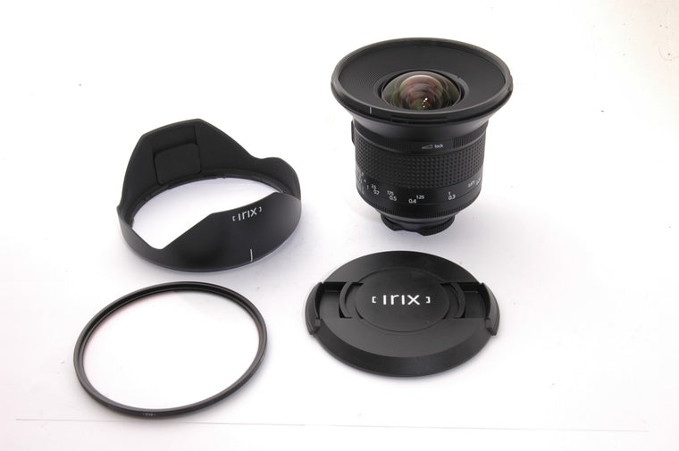 Used Irix 15mm f2.4 Firefly Lens for Nikon