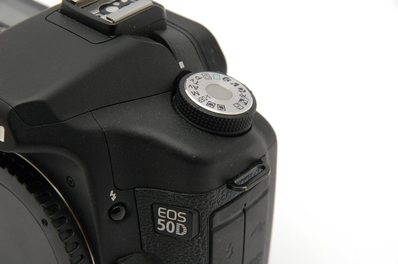 Used Canon EOS 50D Camera Body - Black (Faulty)