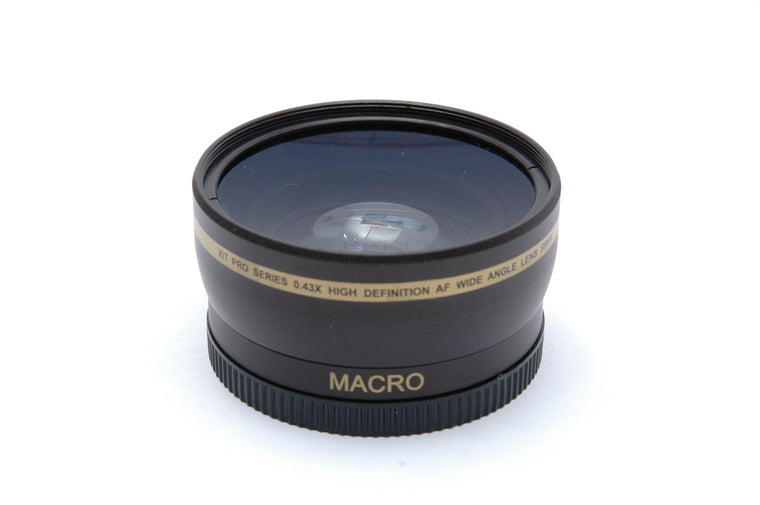 Used Xit Pro series 0.43x Wide Angle Adapter Lens for 58mm