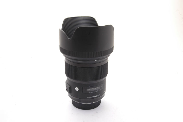 Used Sigma 50mm f/1.4 DG HSM ART for Nikon
