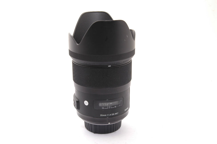 Used Sigma 35mm f/1.4 DG HSM ART for Nikon