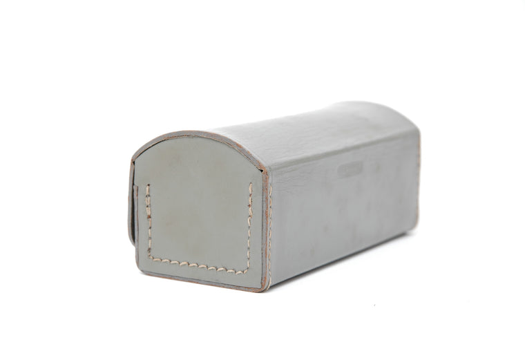 Used Grey Leather Rolleinar Box