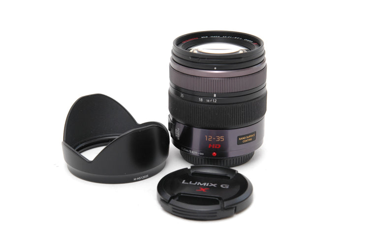 Used Panasonic Lumix G X Vario 12-35mm f/2.8 ASPH Power OIS Lens