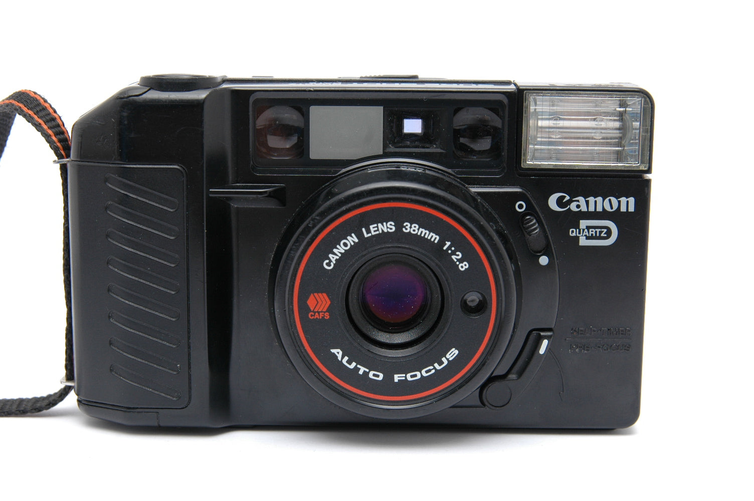 Used Canon Sure Shot Quartz Date 35mm Point and Shoot