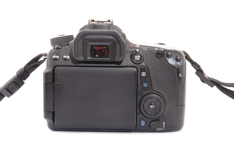 Used Canon EOS 70D Camera Body - Black