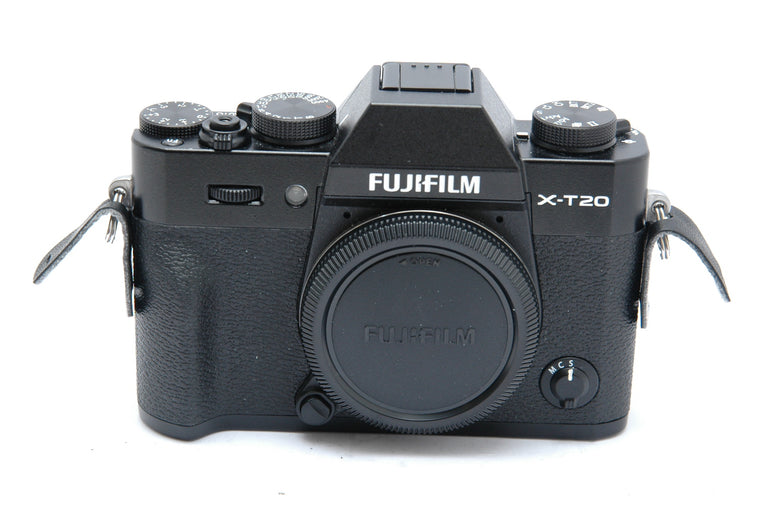 Used Fujifilm X-T20 Mirrorless Camera Body - Black
