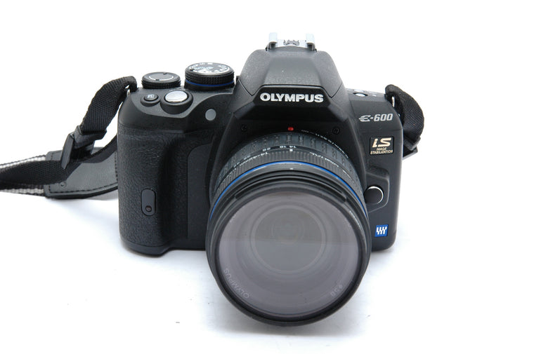 Used Olympus E-600 Camera Body with 14-45mm Kit Lens