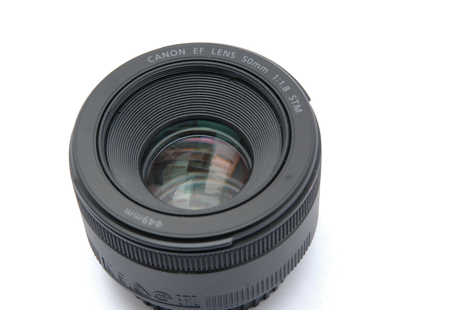 Used Canon Ef 50mm F 18 Stm Lens Cambrian Photography