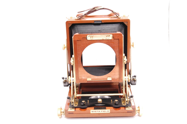 Used Wista Field DX 4x5 Cherry Wood Field Camera