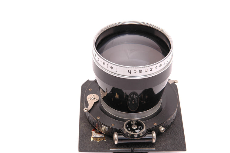 Used Schneider Tele-Xenar 360mm f5.5 Large Format Lens on Wista Lensboard