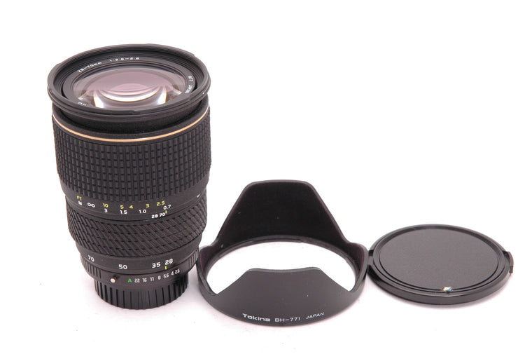 Used Tokina AT-X 28-70 f2.6-2.8 Af Pentax Mount Lens