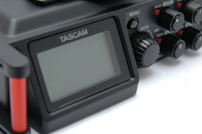 Used Tascam DR-70D Linear PCM Recorder for DSLR