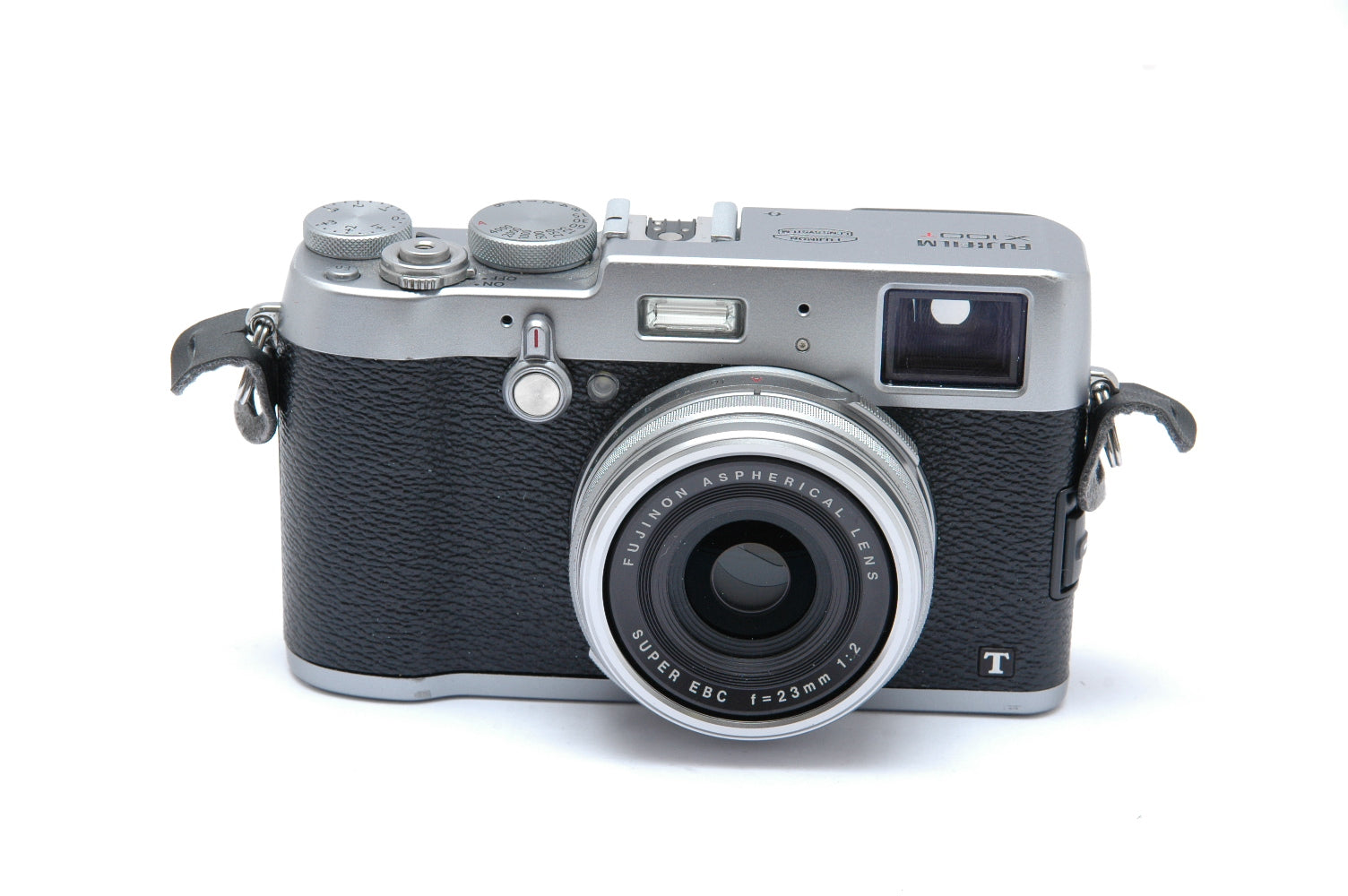 Used Fujifilm X100T Digital Fixed Lens Camera - Silver