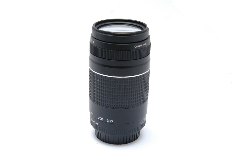 Used Canon EF 75-300mm F4-5.6 III Lens