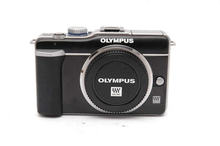 Used Olympus Pen E-PL1 Camera Body - Silver (Faulty)