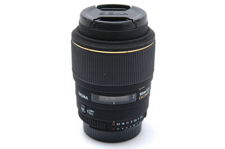 Used Sigma 105mm f2.8 EX DG Macro Lens - Nikon Fit