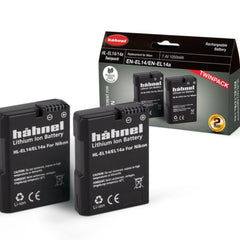 Hahnel HL-EL14/14A TWIN PACK