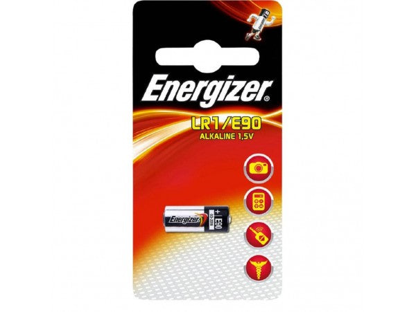 Energizer LR1/E90 Battery 1.5v
