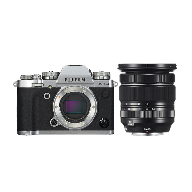 Fujifilm X-T3 with XF 16-80mm Lens - Silver