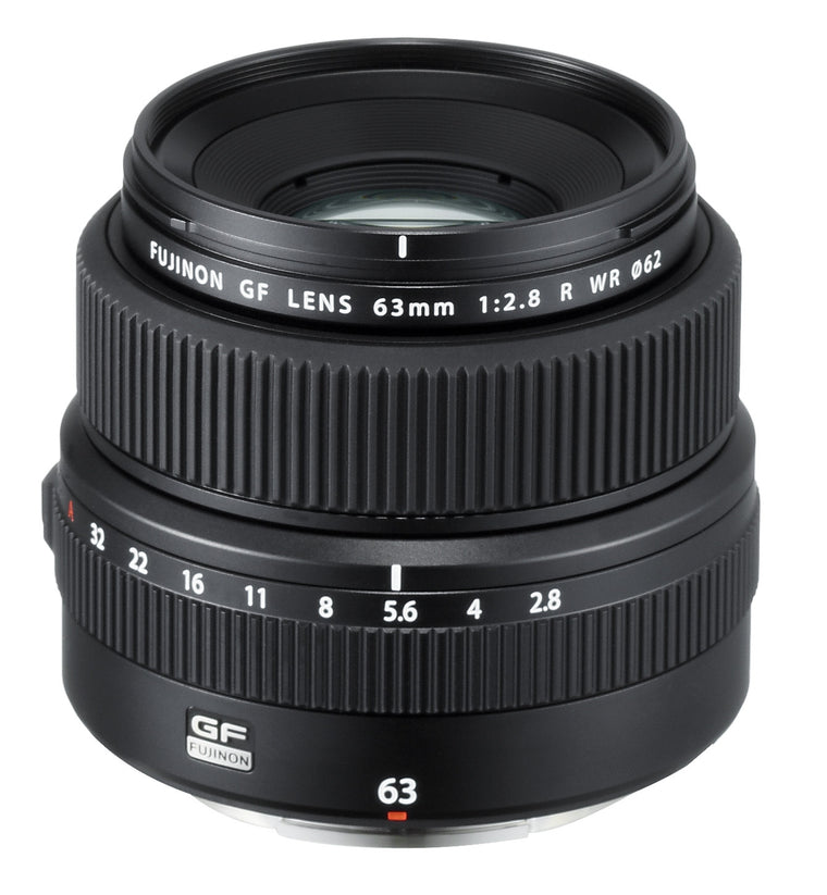 FUJINON GF 63mm F2.8 R WR - Black
