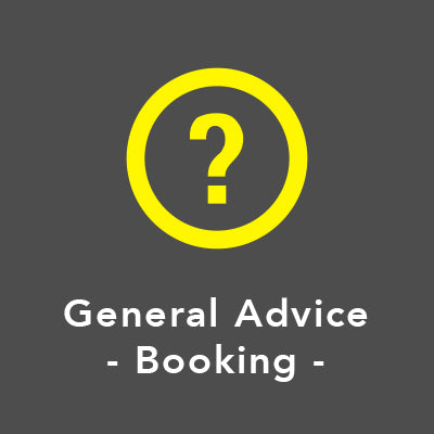 General Advice - Booking