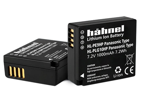 Hahnel HL-PLG10 7.2v 820mAh - Panasonic DMW-BLG10 Replacement Battery
