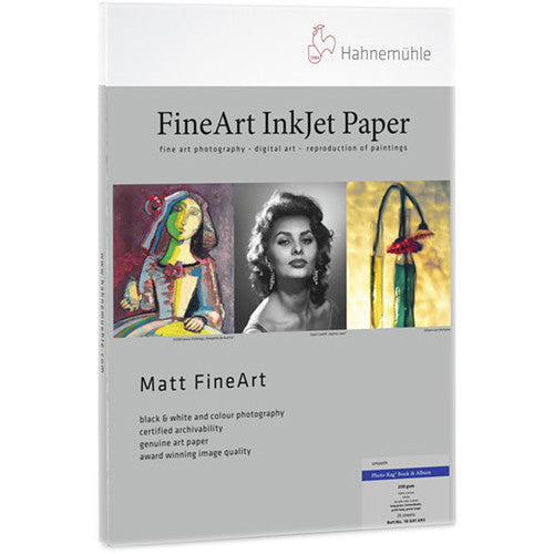 Hahnemuhle Matt FineArt Book & Album Photo Rag 25pk