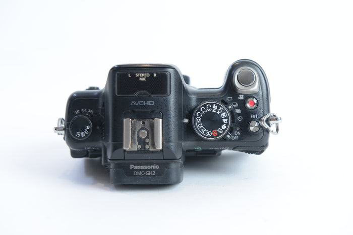 Used Panasonic GH2 Camera Body - Black